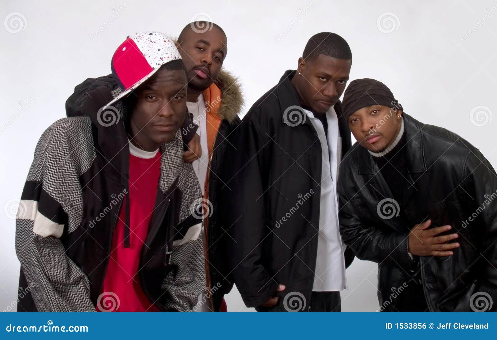 Muchachos negros libres boquiabiertos