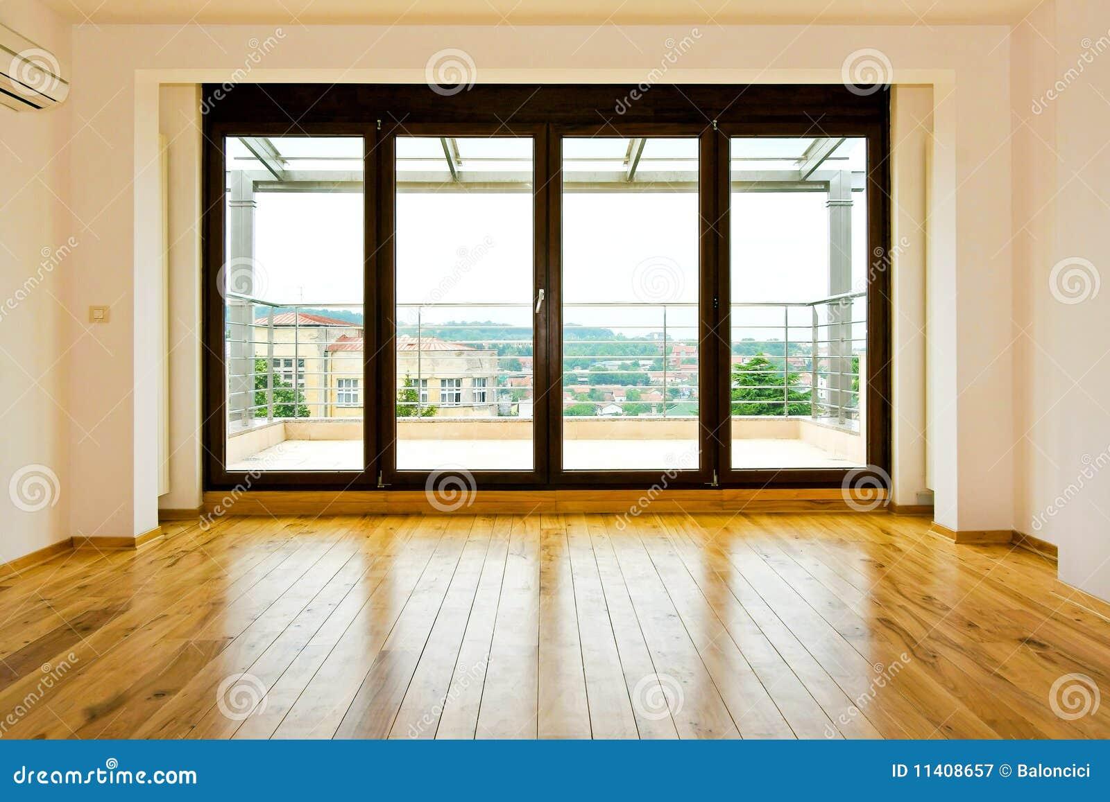 Cuatro puertas de cristal