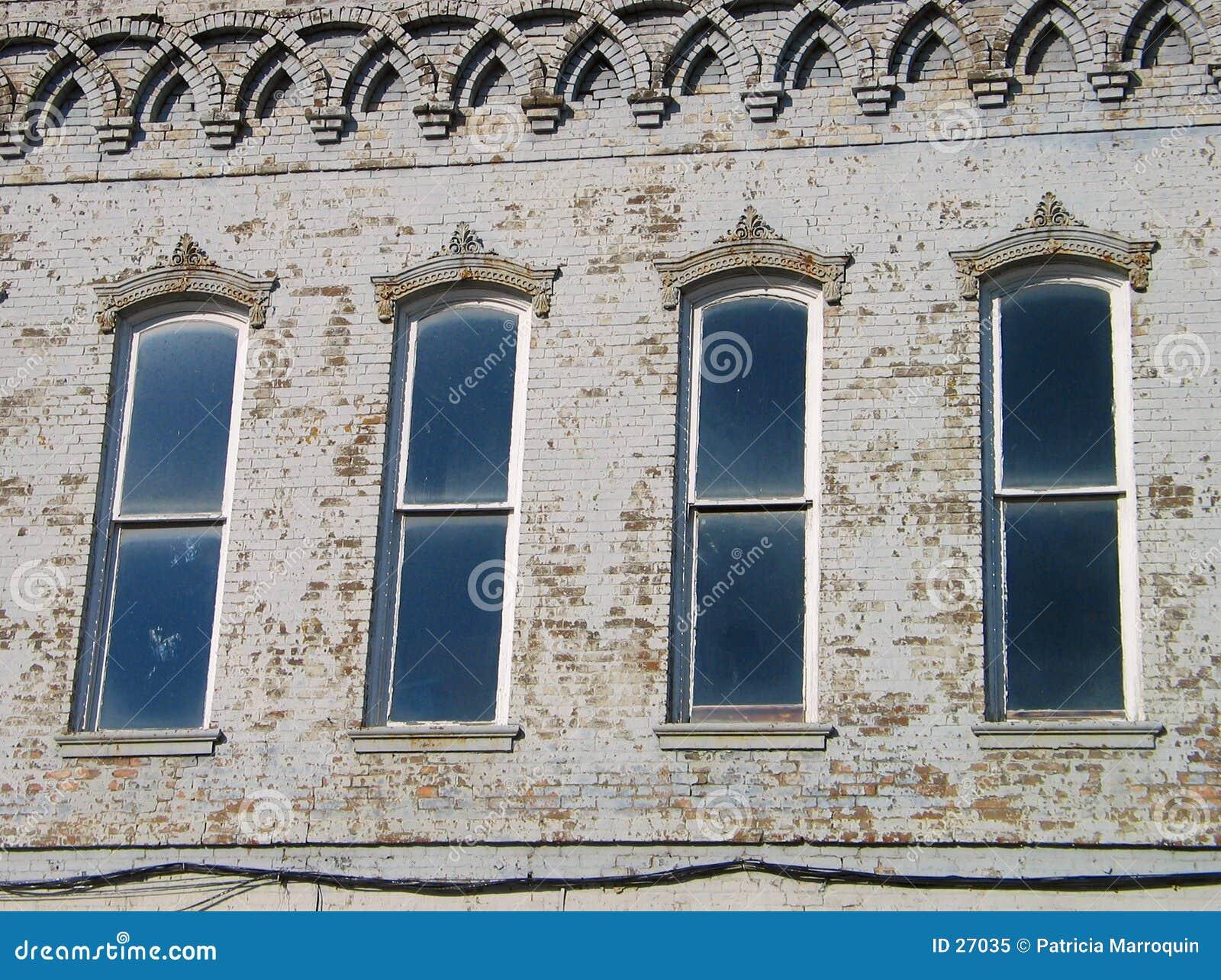 Download Cuatro Windows imagen de archivo. Imagen de ciudad, ventanas - 27035