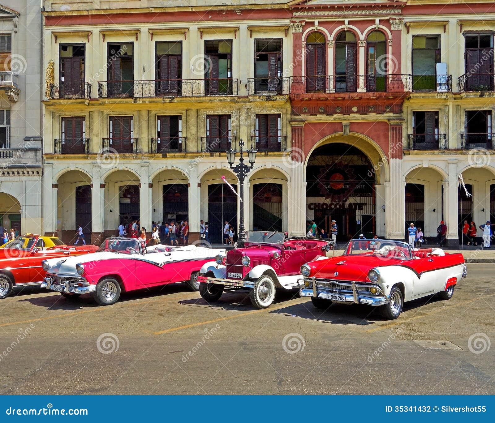 Cuba classics. editorial photography. Image of adventure - 35341432