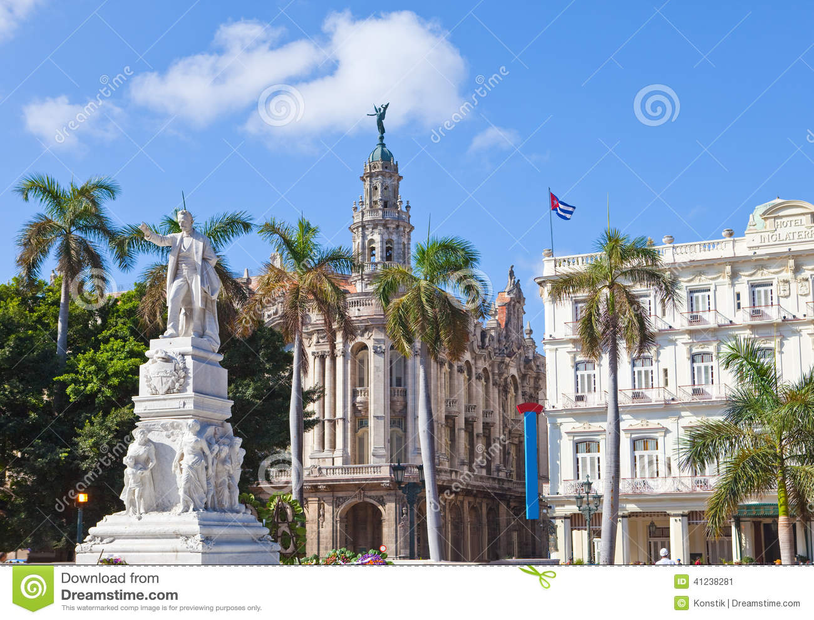 Cuba havana Jose Marti monument i Central Park