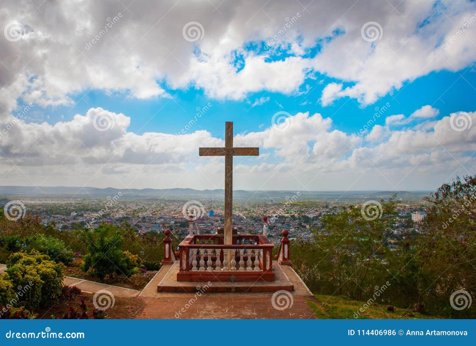 Cuba Holguin: Loma de La Cruz de Holguin