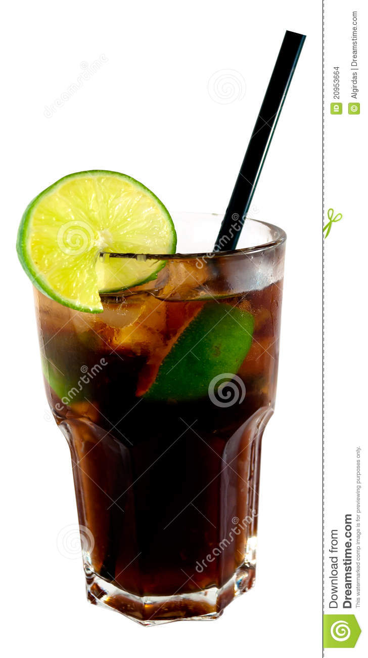 Cuba Libre Cocktail Stock Images - Image: 20953664