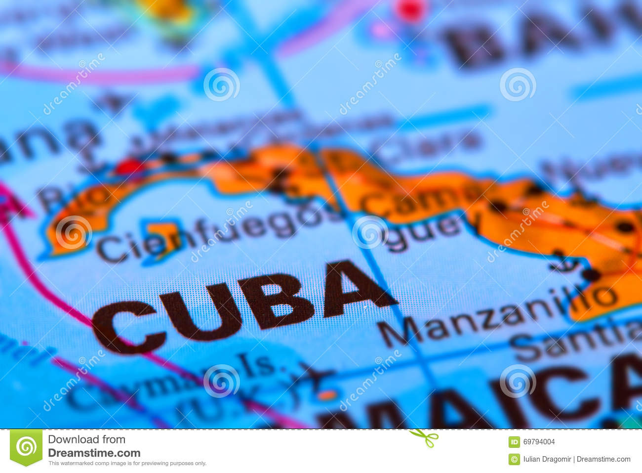 Cuba on the Map