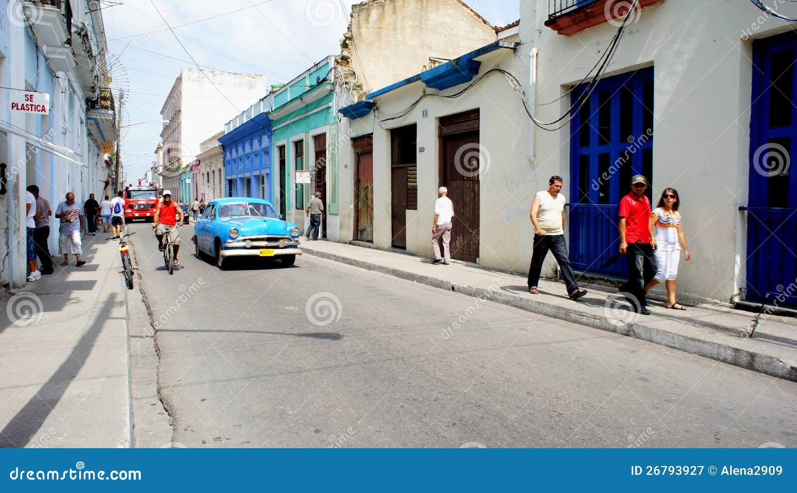 Cuba. Matanzas. Street Transportation. Editorial ...