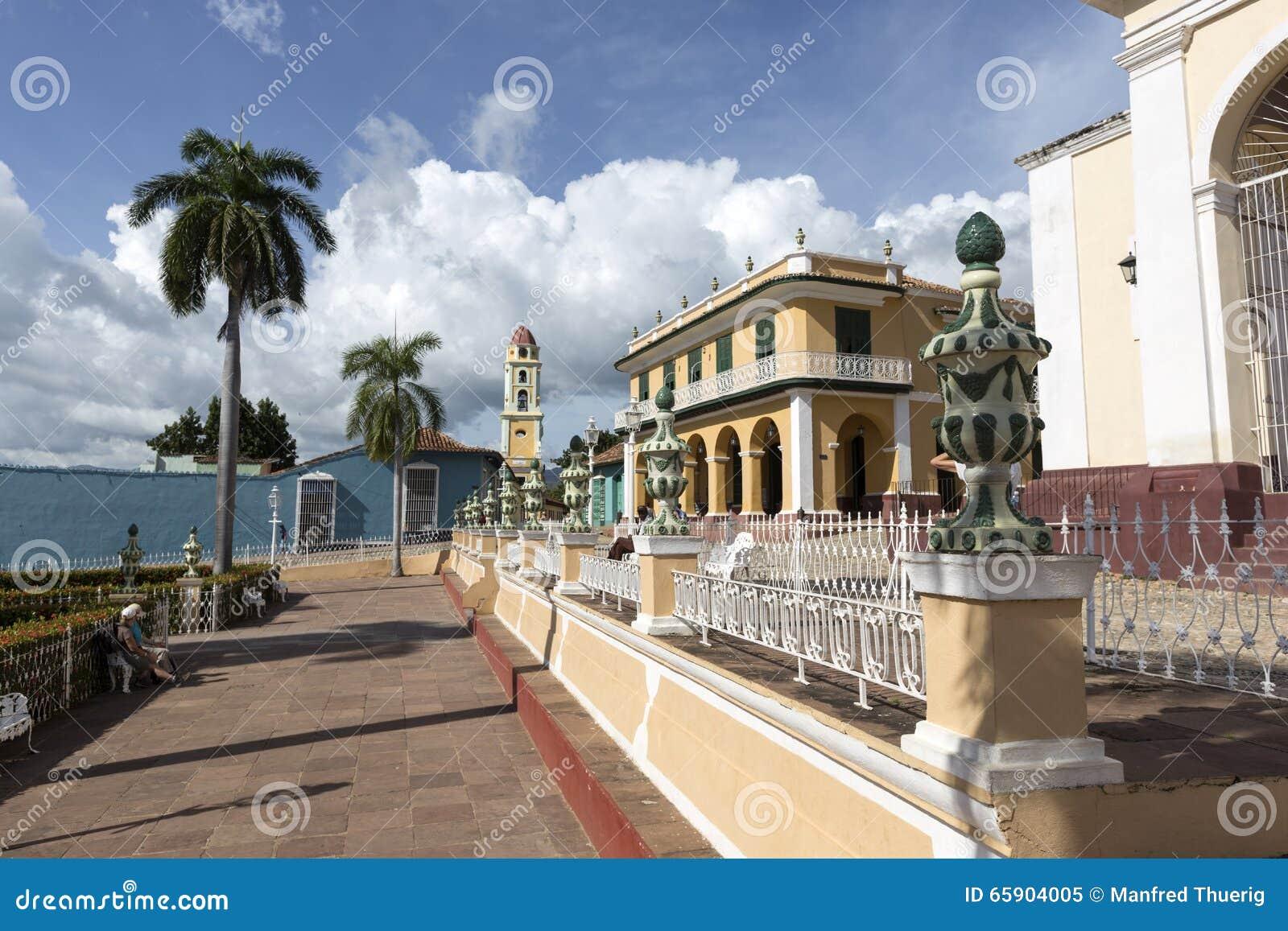 Cuba, parque em Trinidad