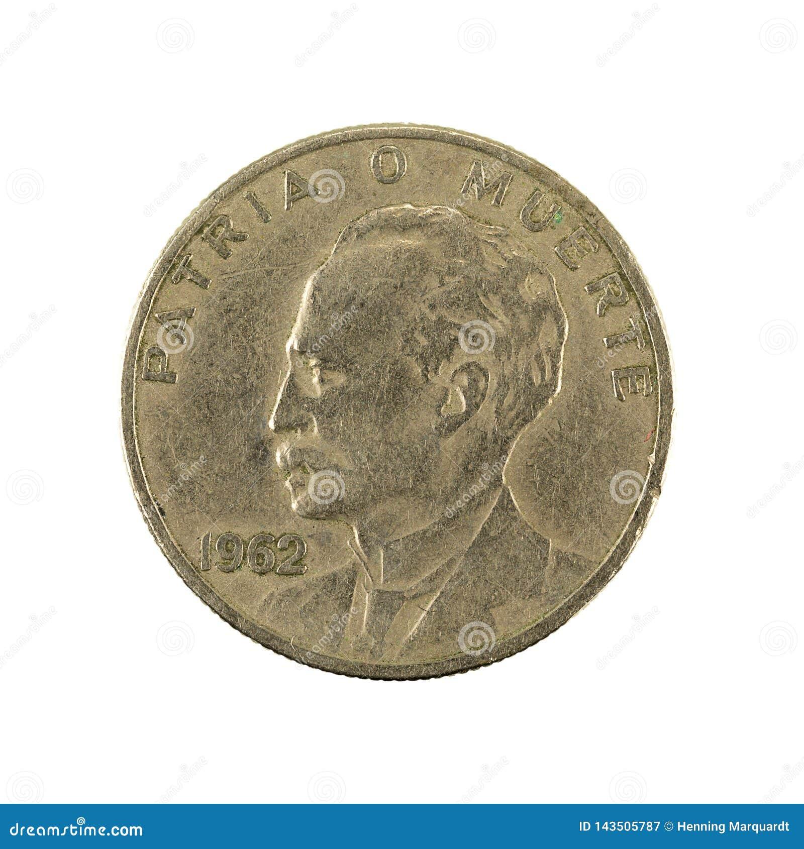 1962 cuban coin
