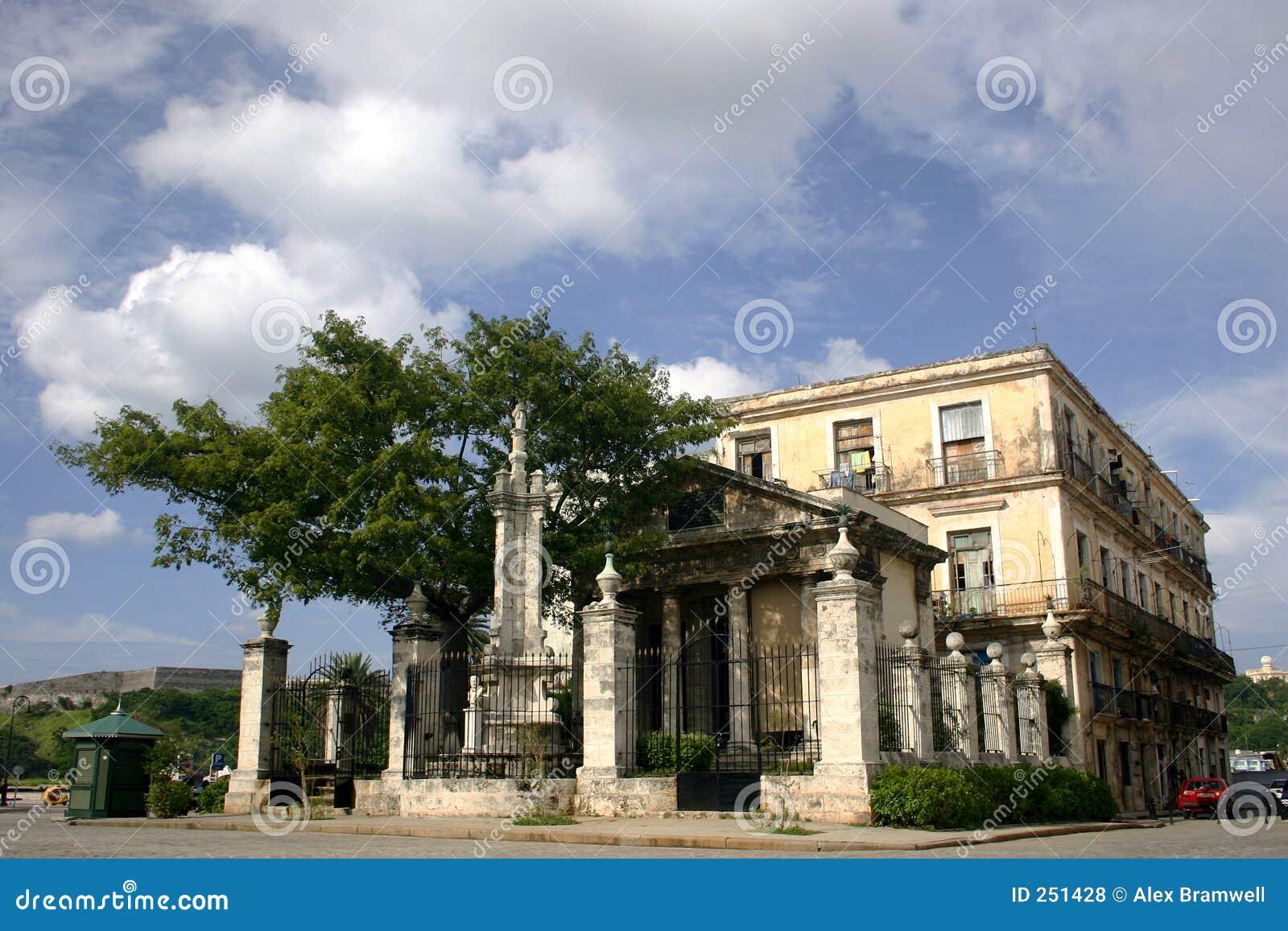 Cuban Mansion Royalty Free Stock Photos Image 251428