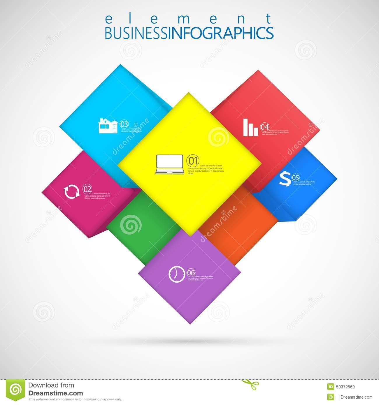 cube box for business concepts template royalty free stock image business concepts