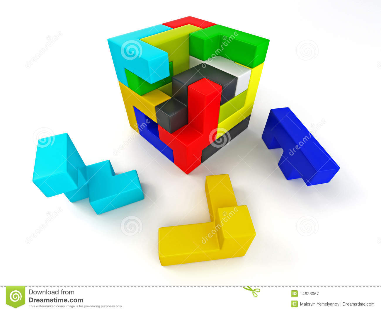 how to build a puzzle cube
