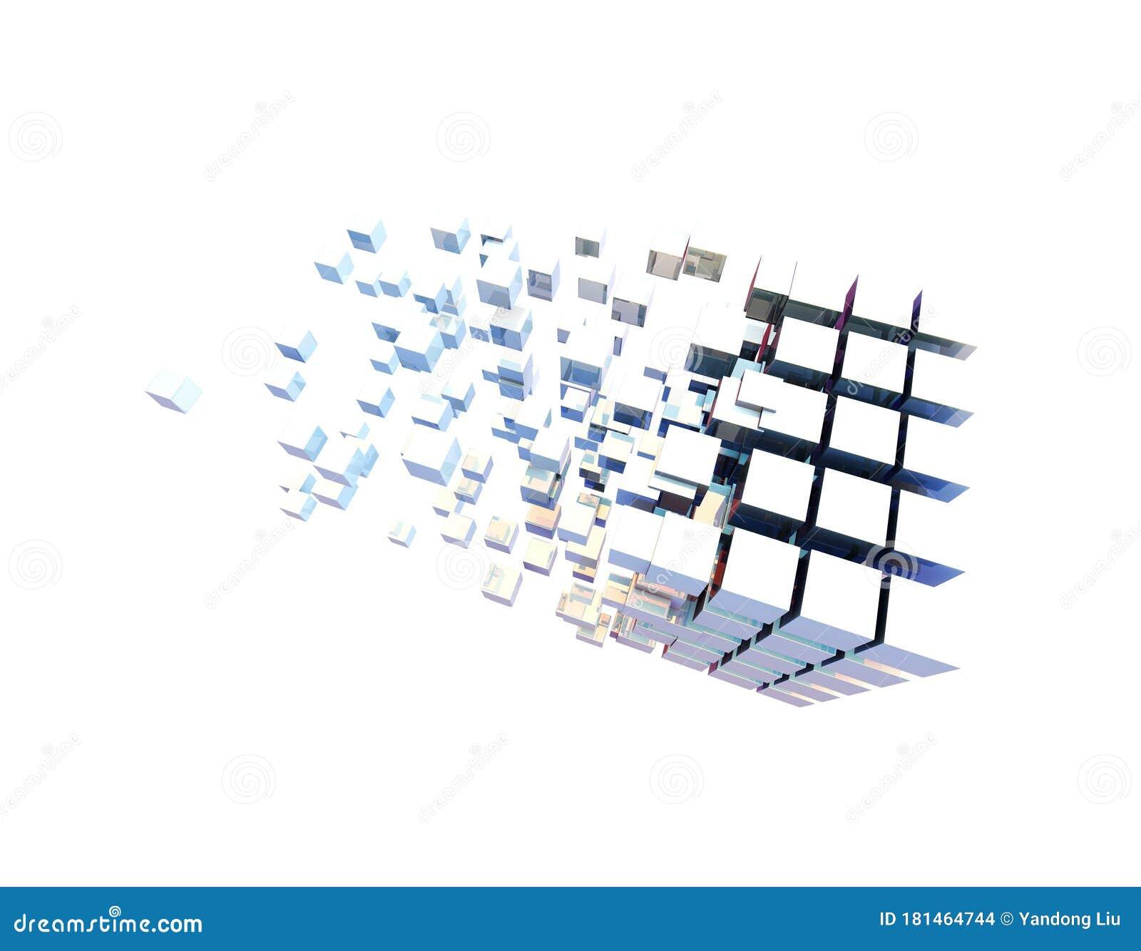 Cube Digital Technology And Programming Data Transmission And Storage Intelligent Programs Stock Illustration Illustration Of Clone Digitization 181464744