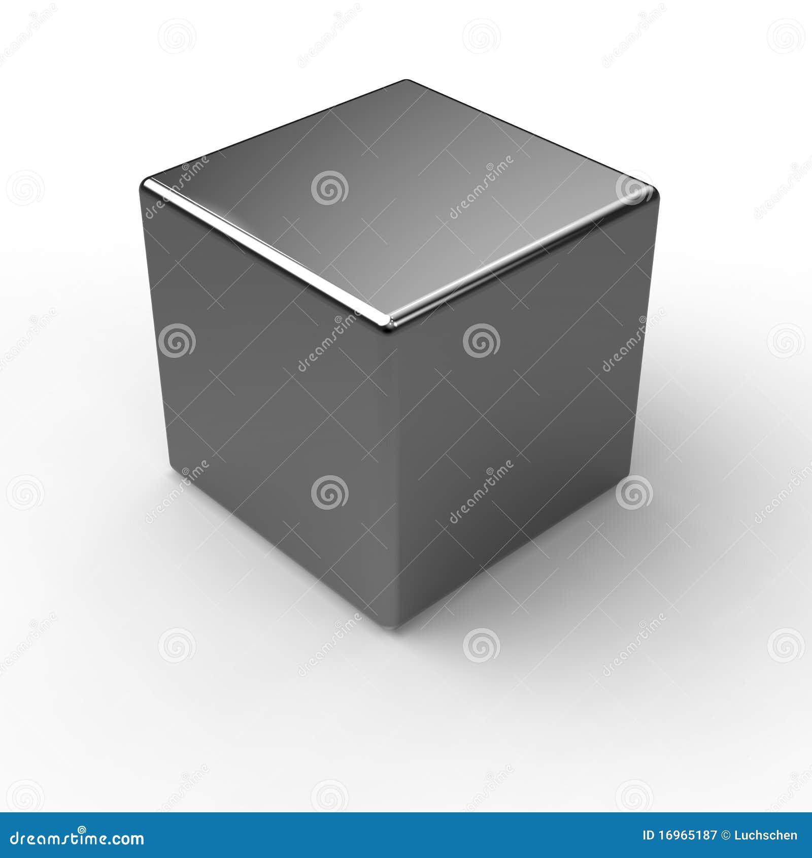 Cube en métal