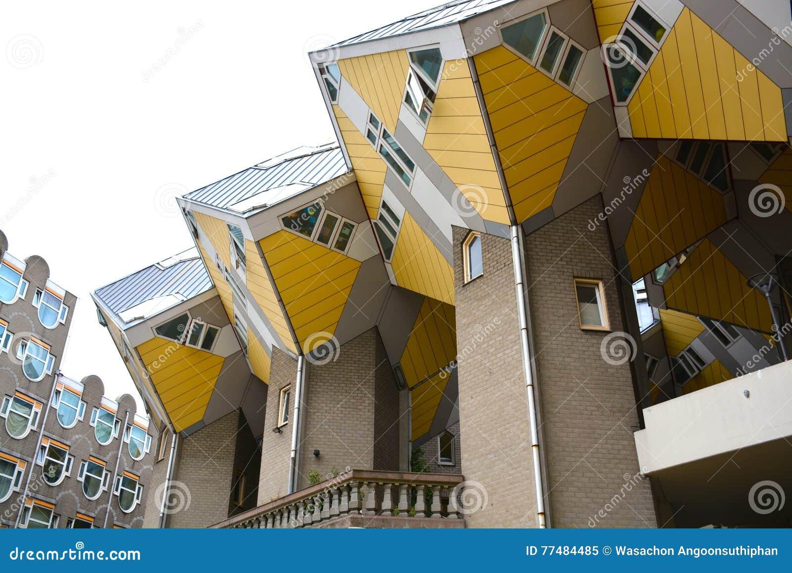 Cube House, Rotterdam, Netherlands - 11 Aug 2015