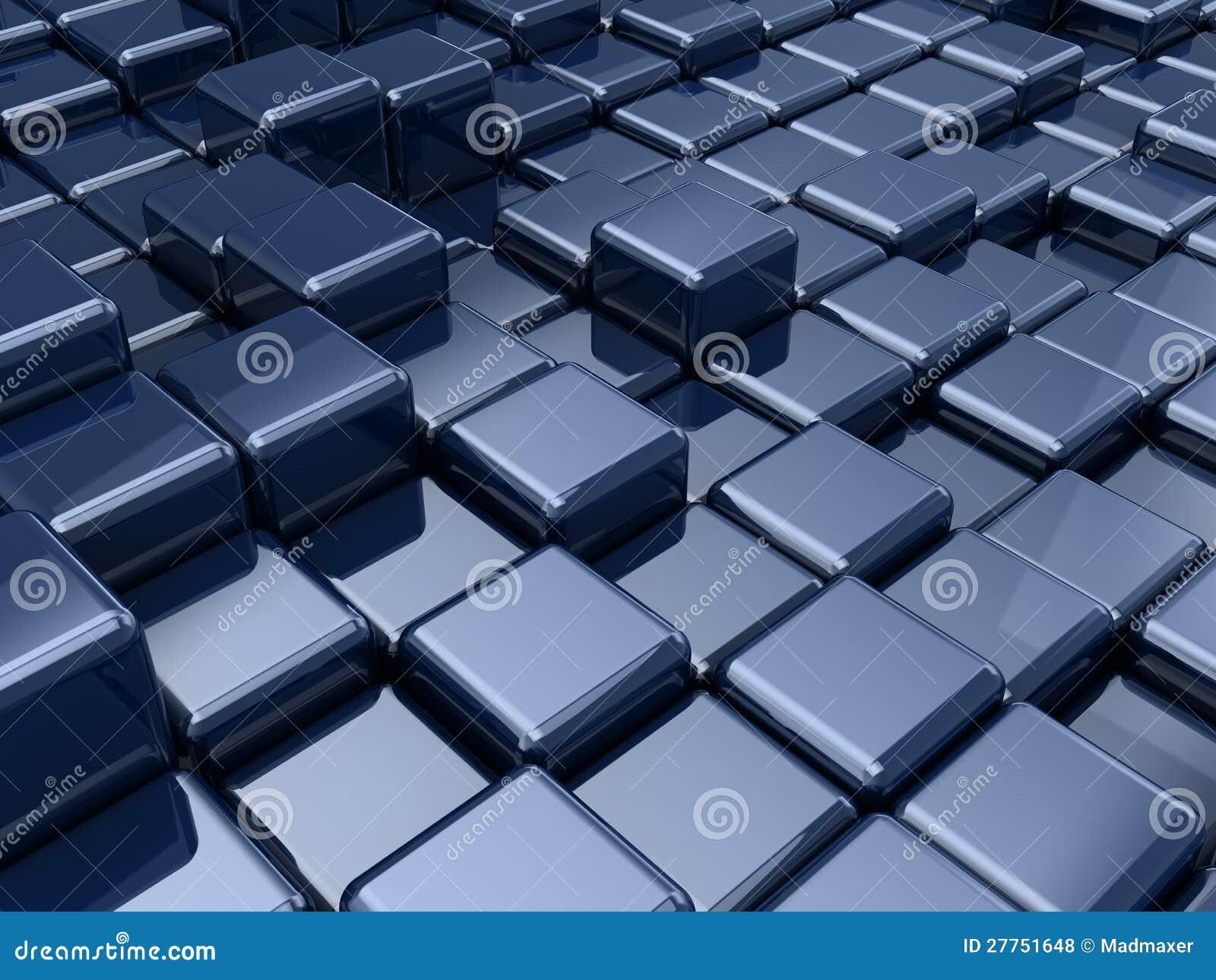 Cube le fond