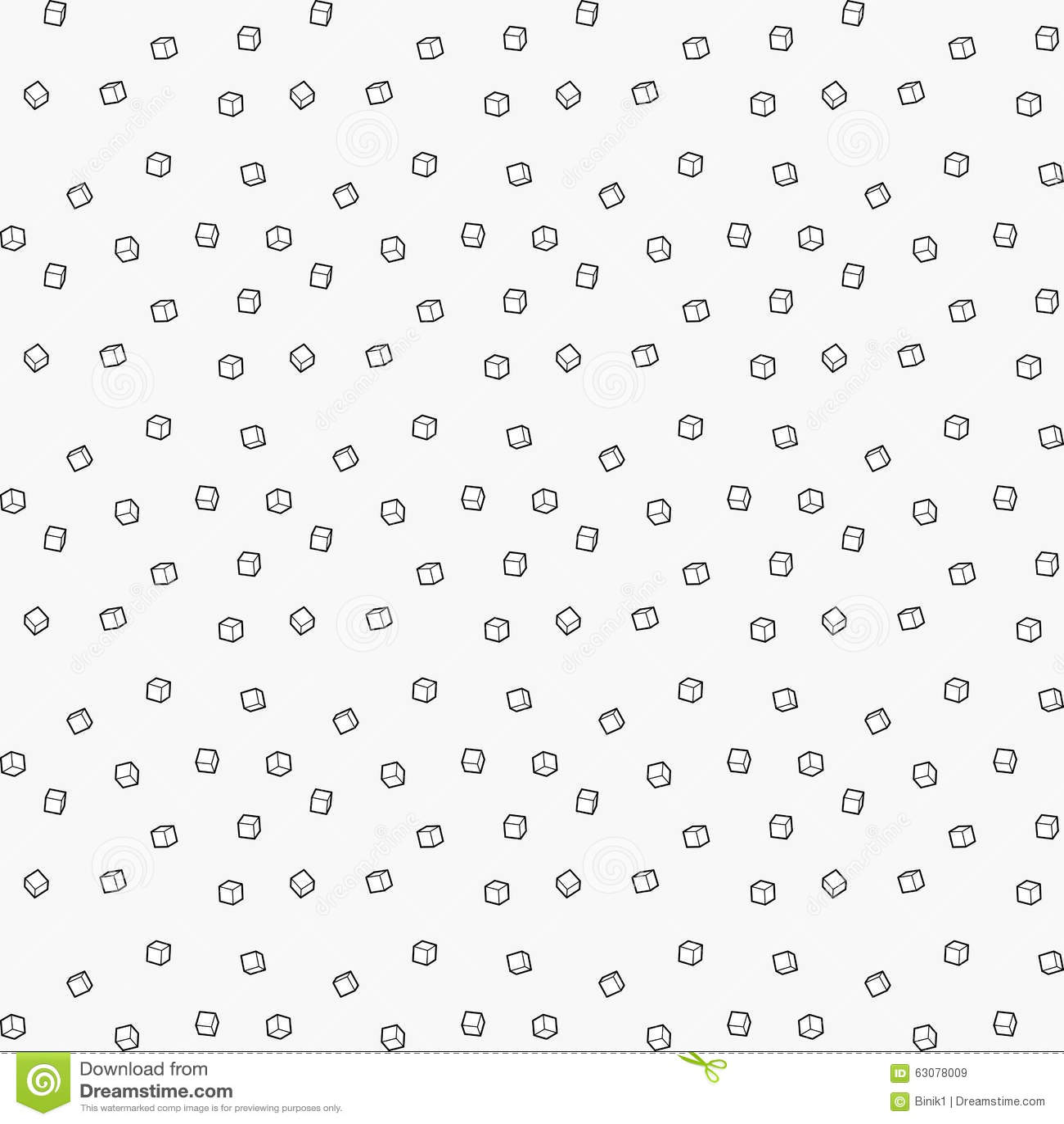 Download Cube le fond sans couture illustration stock. Illustration du bloc - 63078009