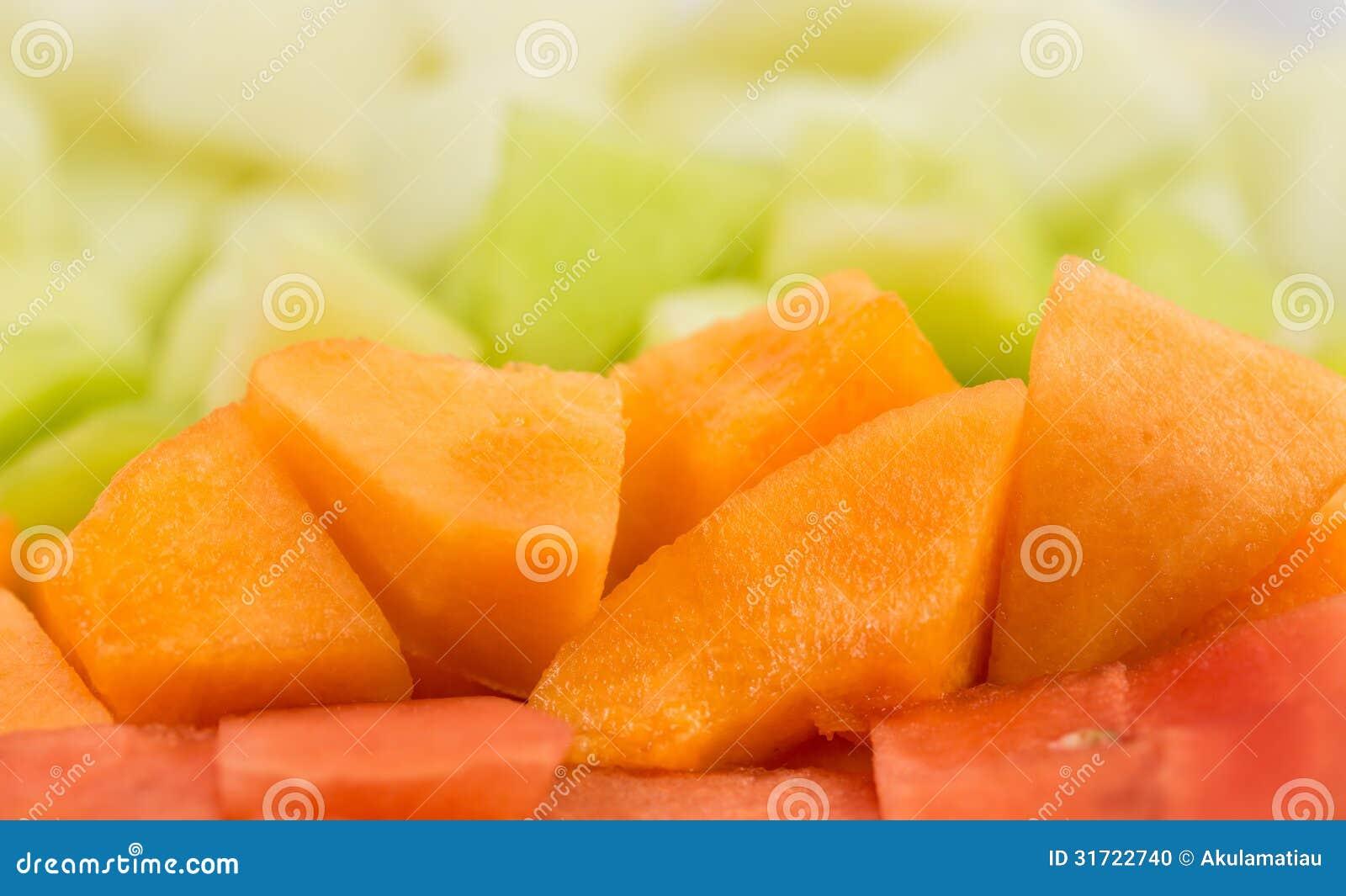 Cube Sized Melons, Honeydew IX
