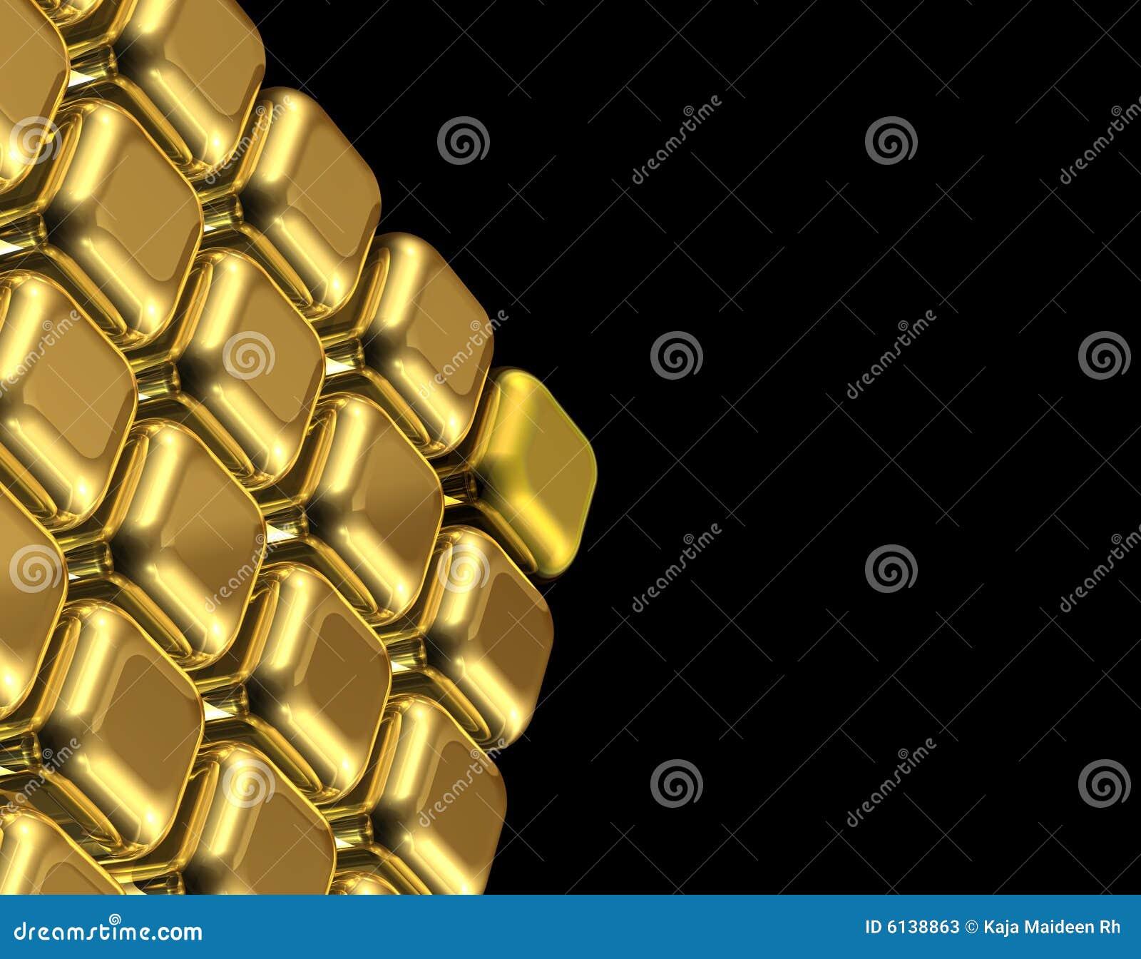 Cubes золото
