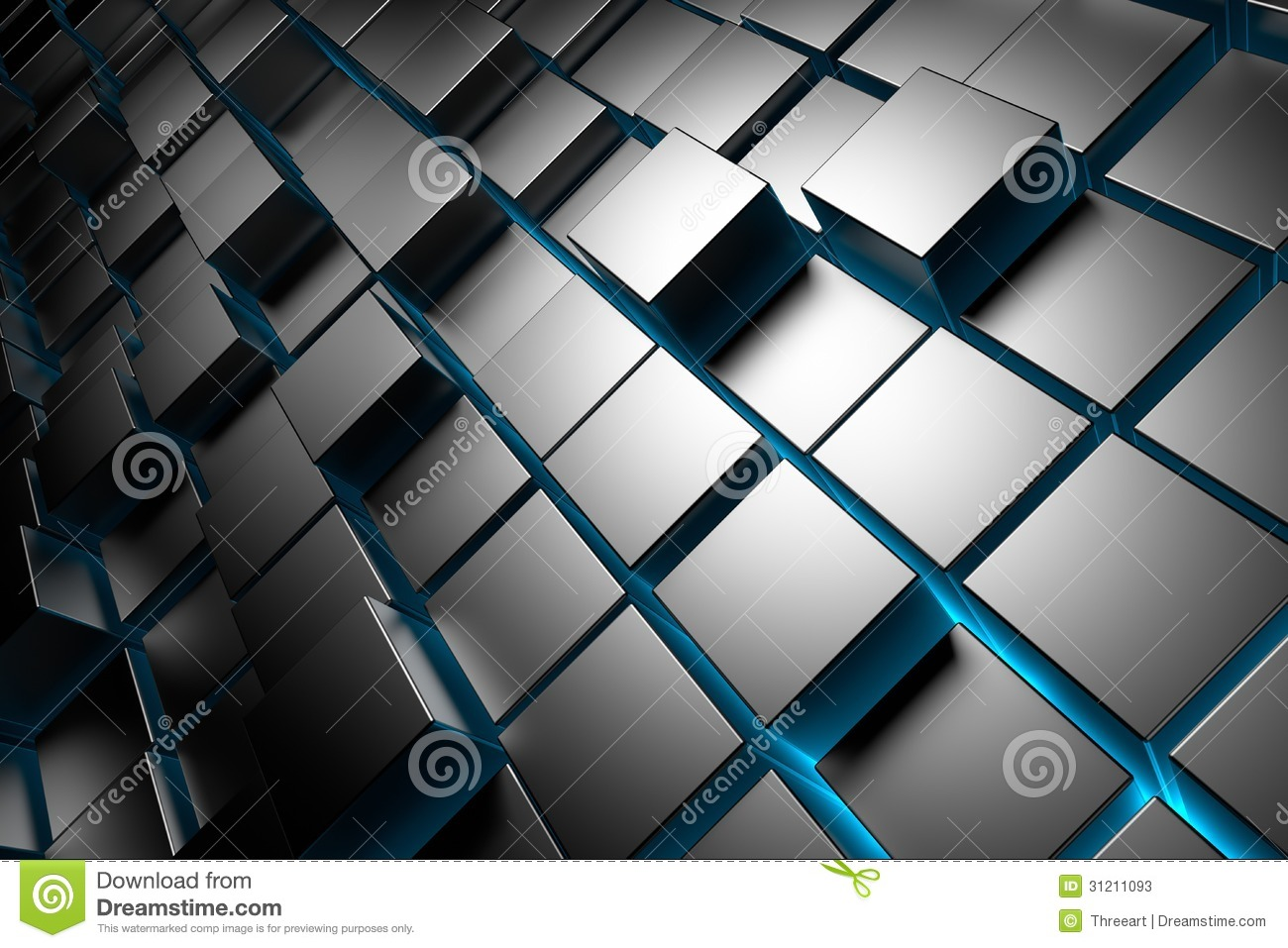 Cubes Background Stock Photos - Image: 31211093