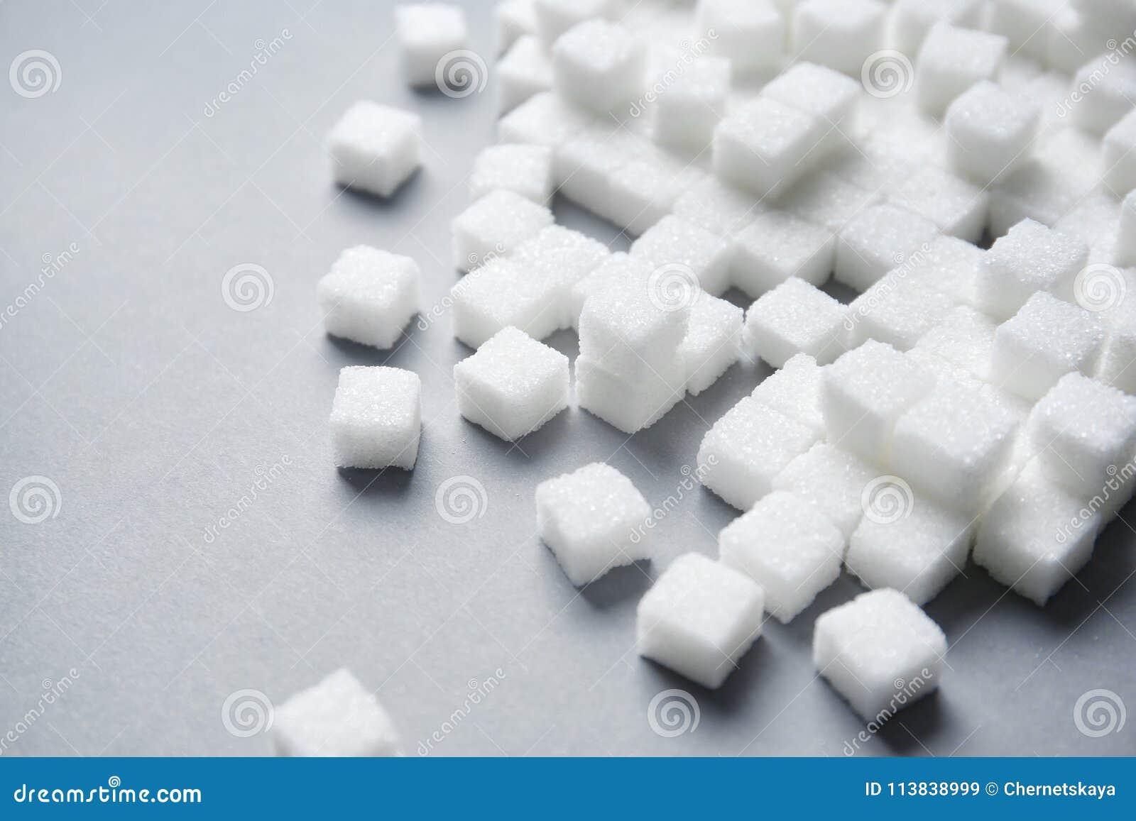Cubes en sucre raffiné