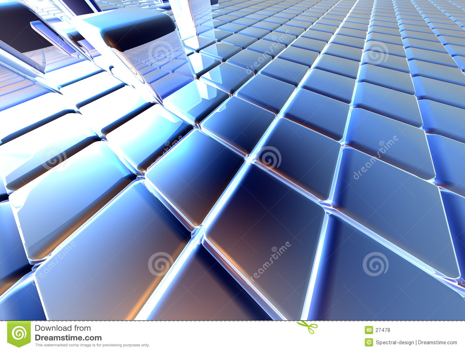 Cubes infinis