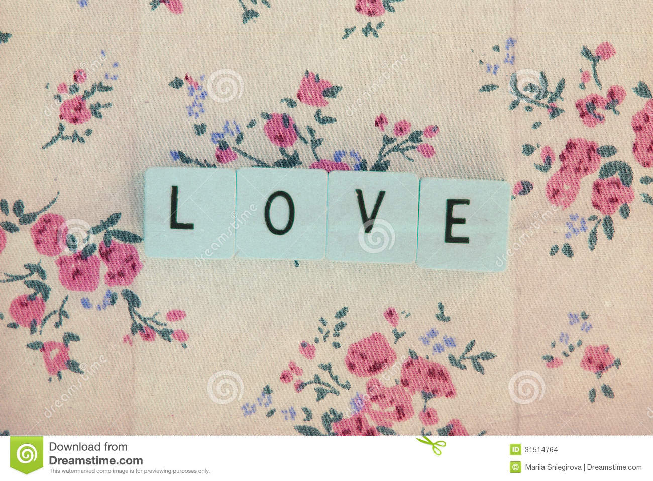 Cubes With Letters Love On Vintage Background Stock Photo Image Of