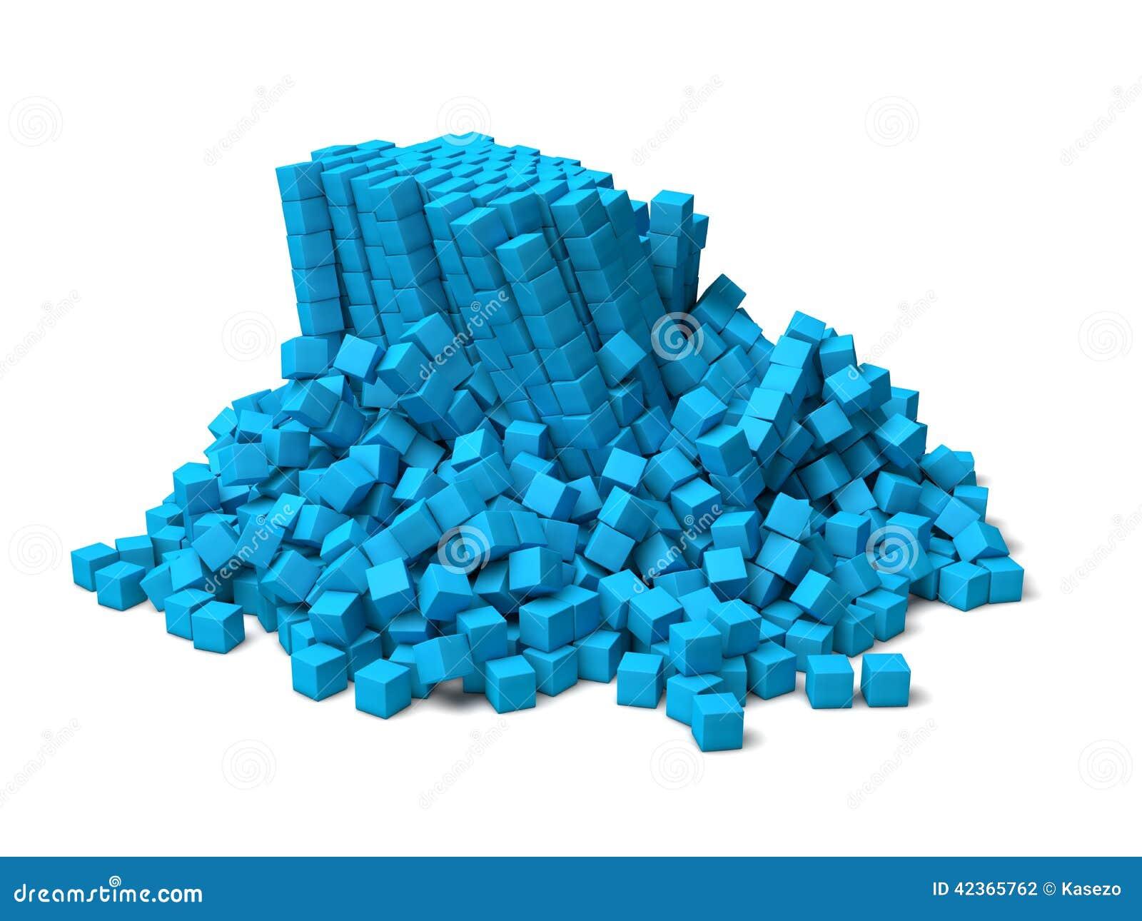 Cubes s effondrants