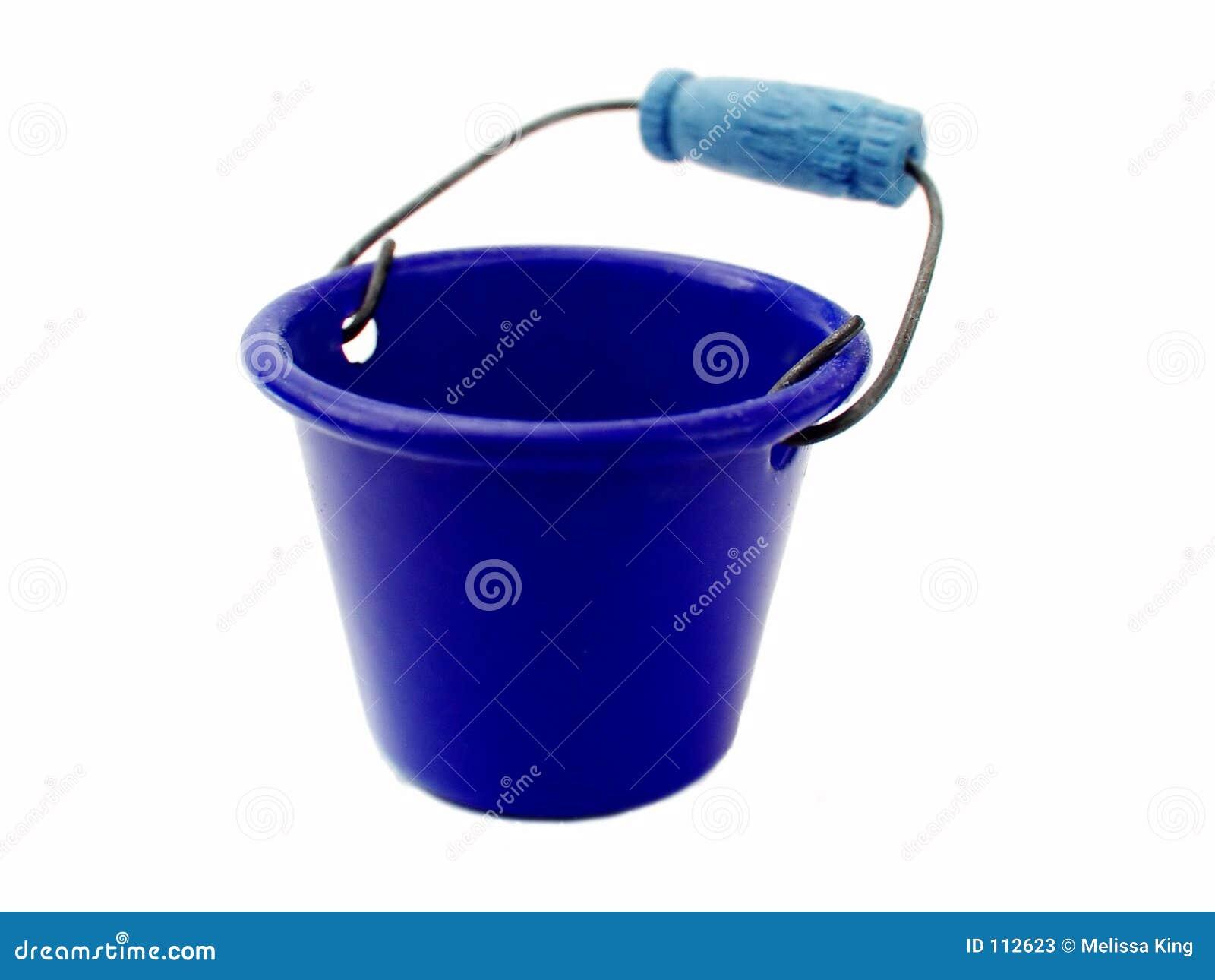 Cubeta azul