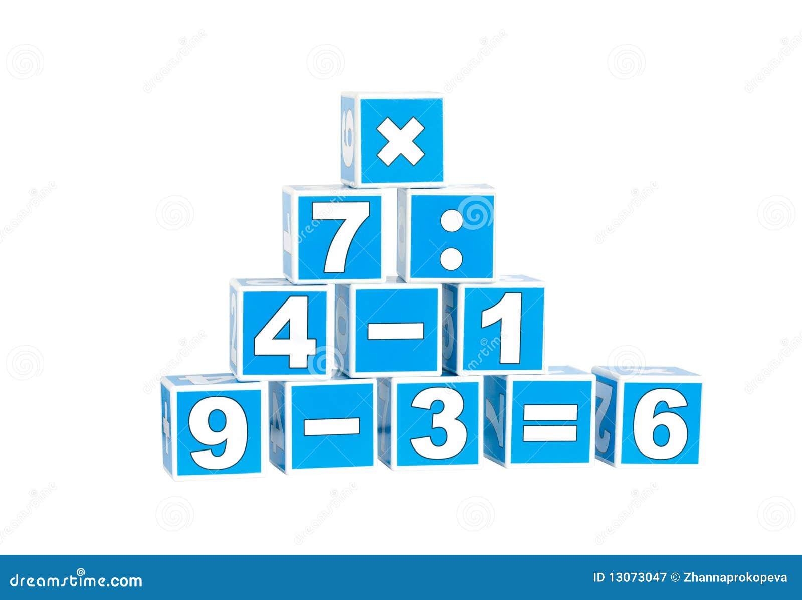 cubi con i numeri immagine stock immagine di dadi gioco 13073047. Black Bedroom Furniture Sets. Home Design Ideas