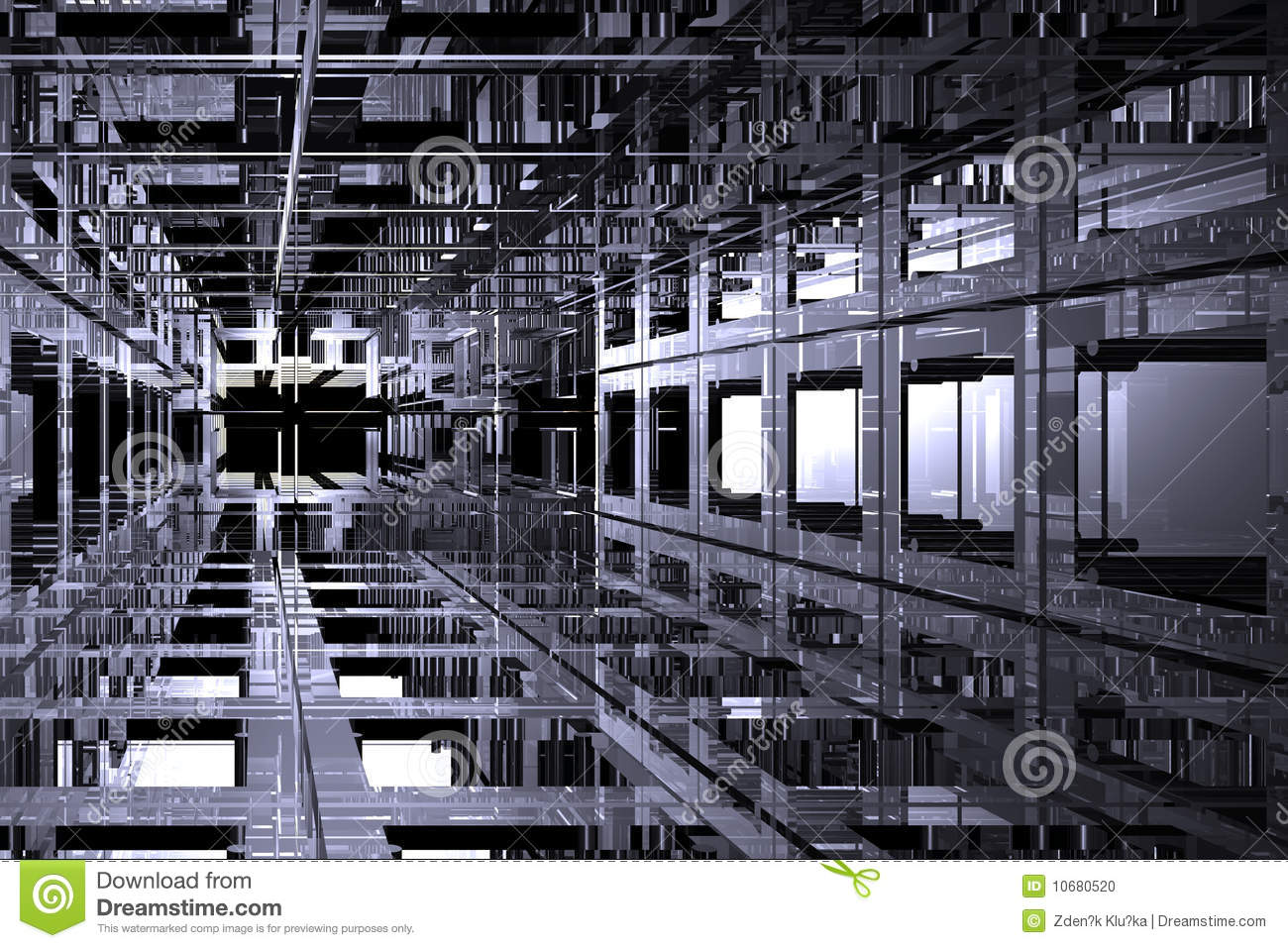 Cubic space stock photo image 10680520 for Cubi spaceo