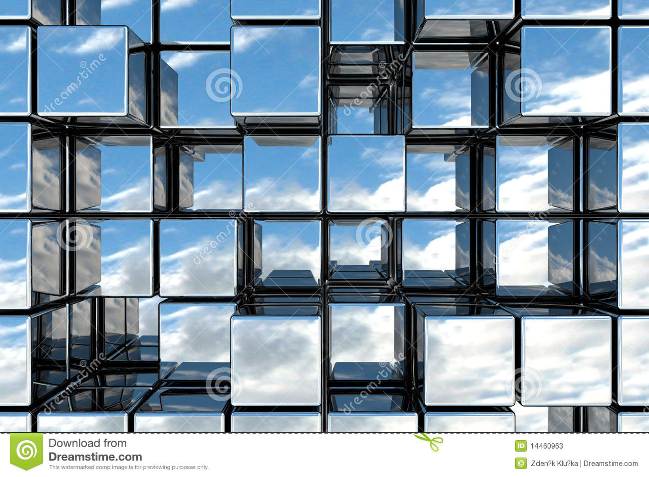 Cubic space stock photos image 14460963 for Cubi spaceo