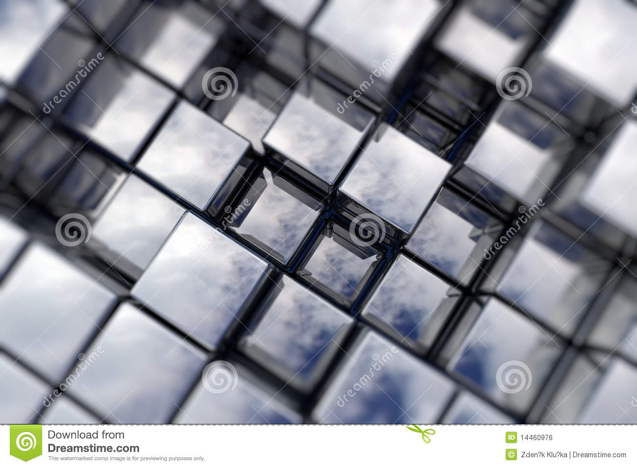 Cubic space royalty free stock image image 14460976 for Cubi spaceo