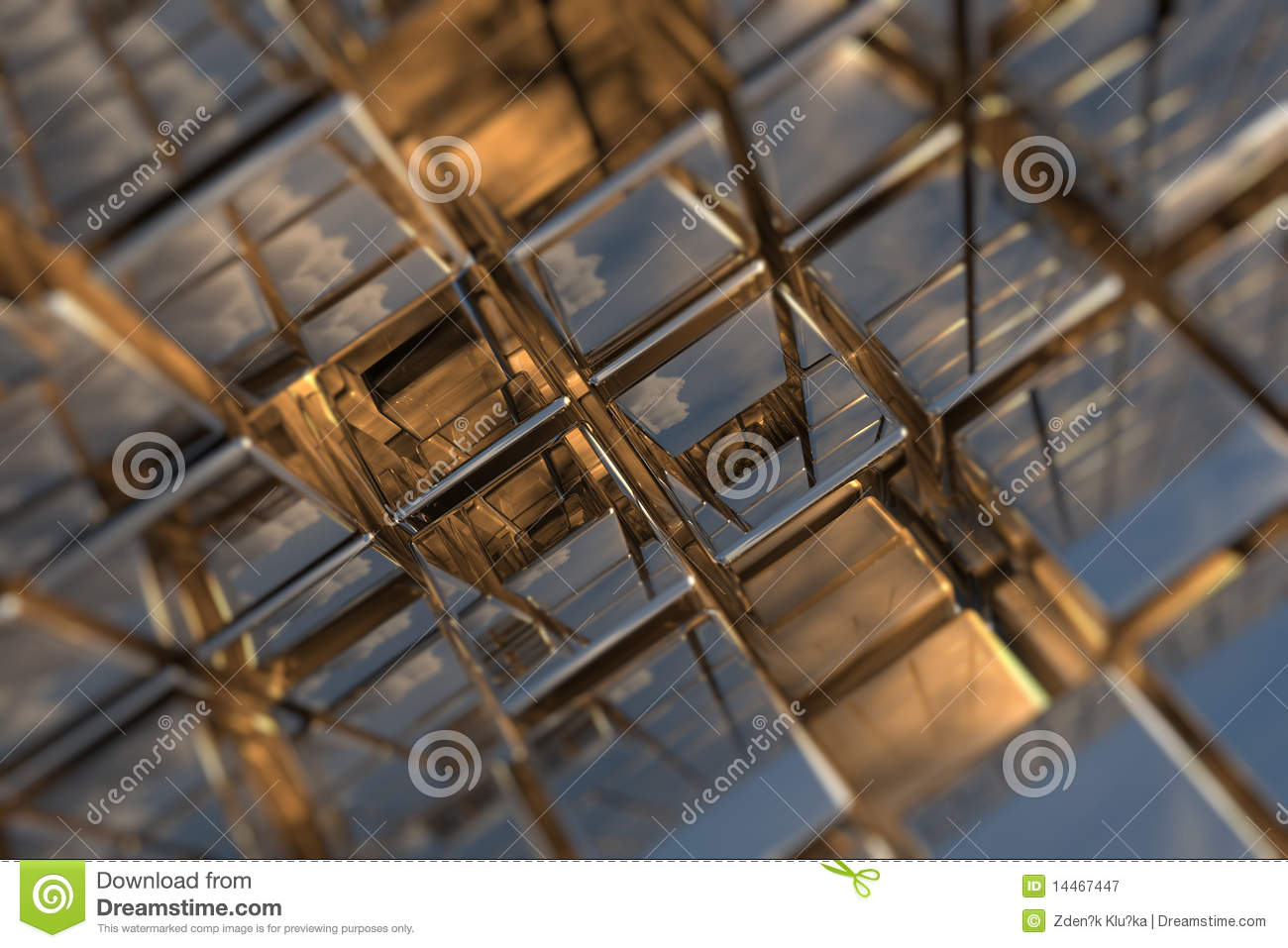 cubic space stock illustration illustration of decoration