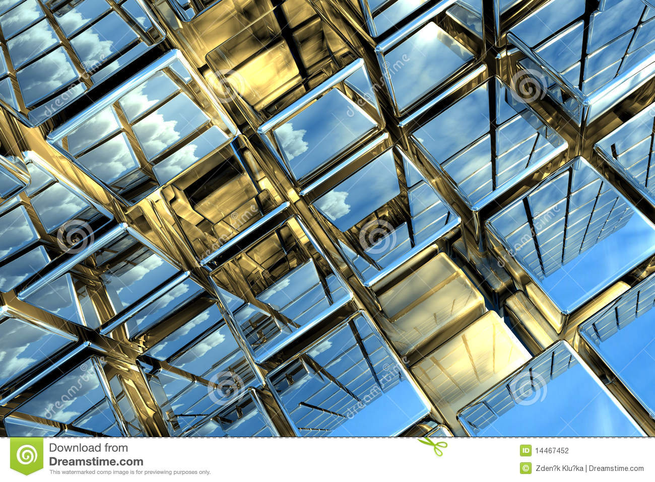 cubic space stock photography image 14467452