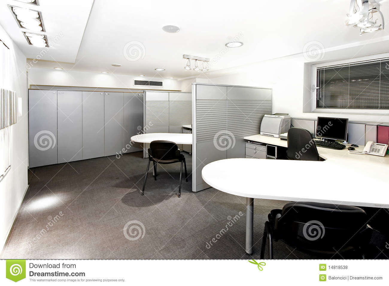 Cubicles Royalty Free Stock Photos Image 14818538