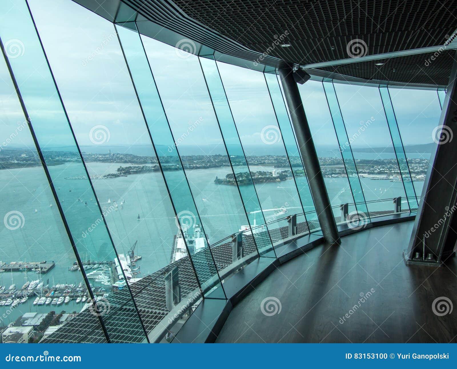 Cubierta del cielo, torre del cielo, Auckland, Nueva Zelanda