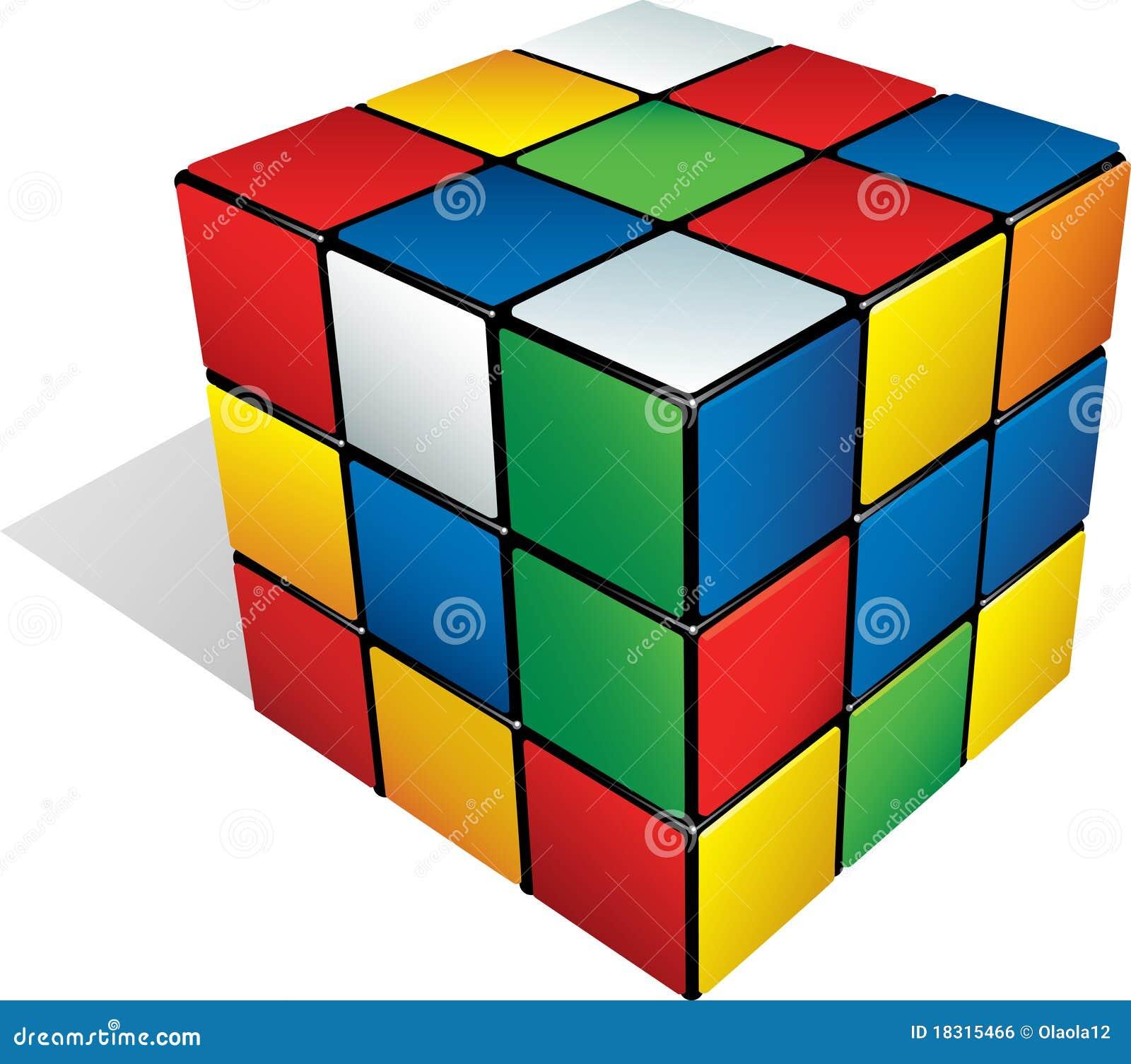 Rectangular Prism Real Life Examples: Cubo 3d Multicolore Fotografia Editoriale