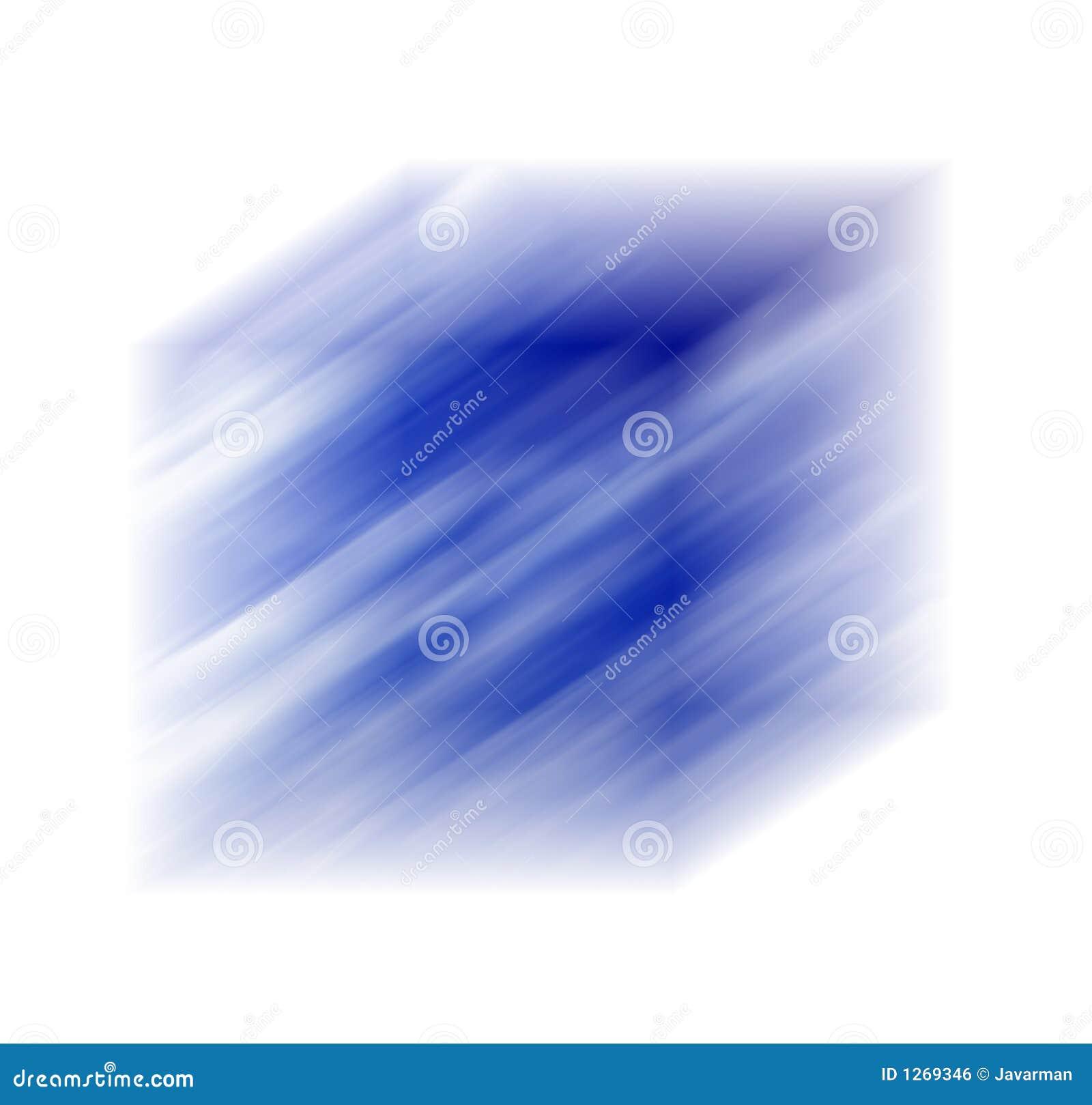 Cubo bluered azul