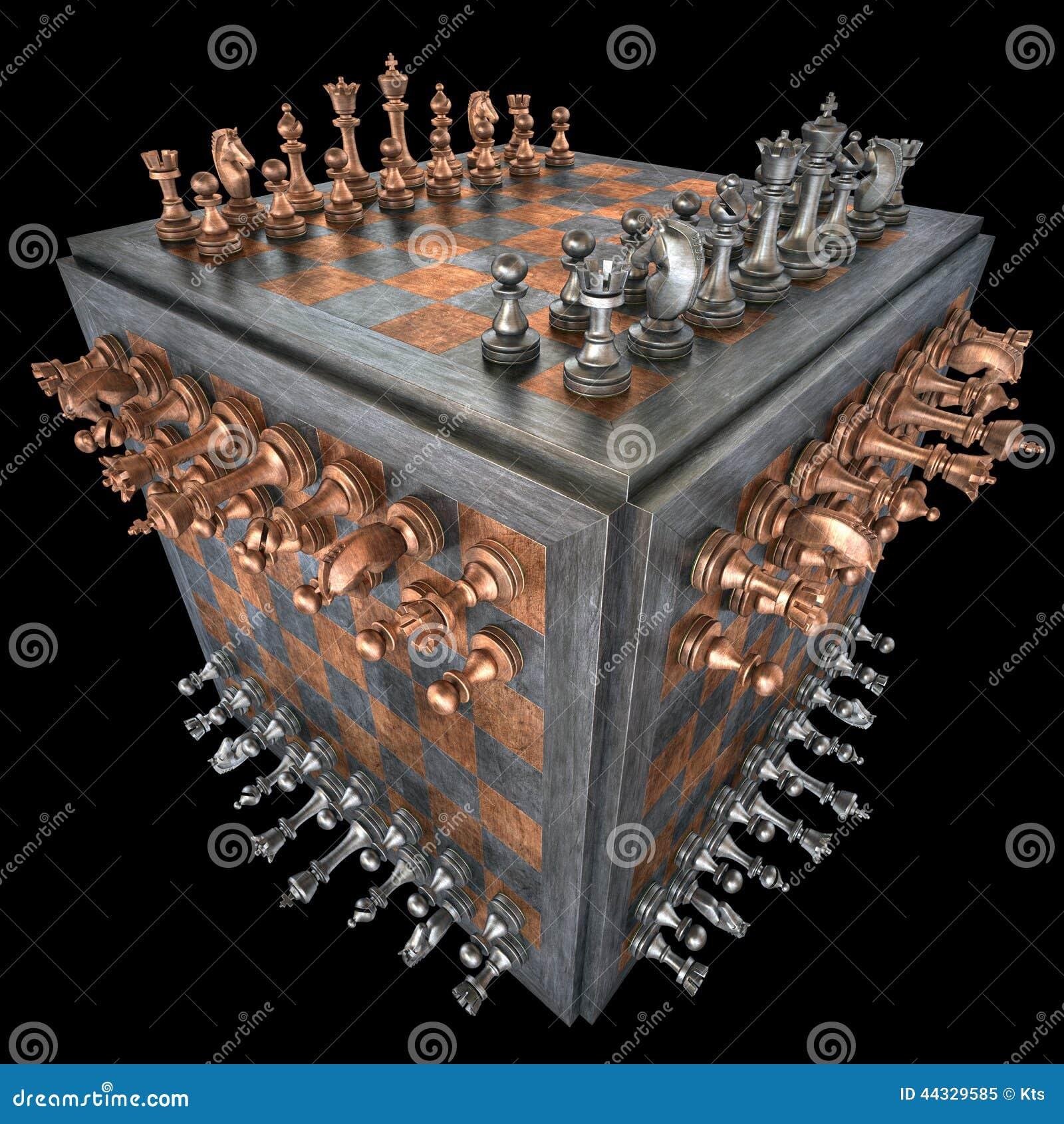 Cubo da xadrez