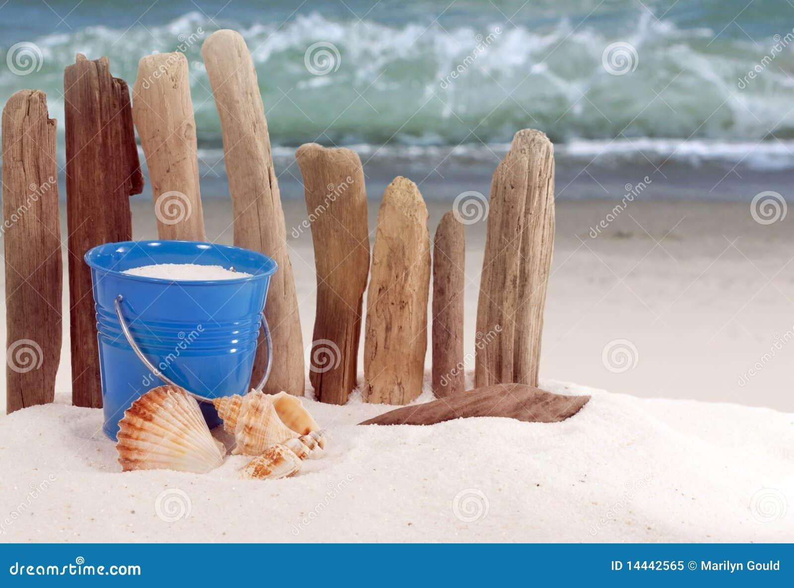 Cubo de la playa