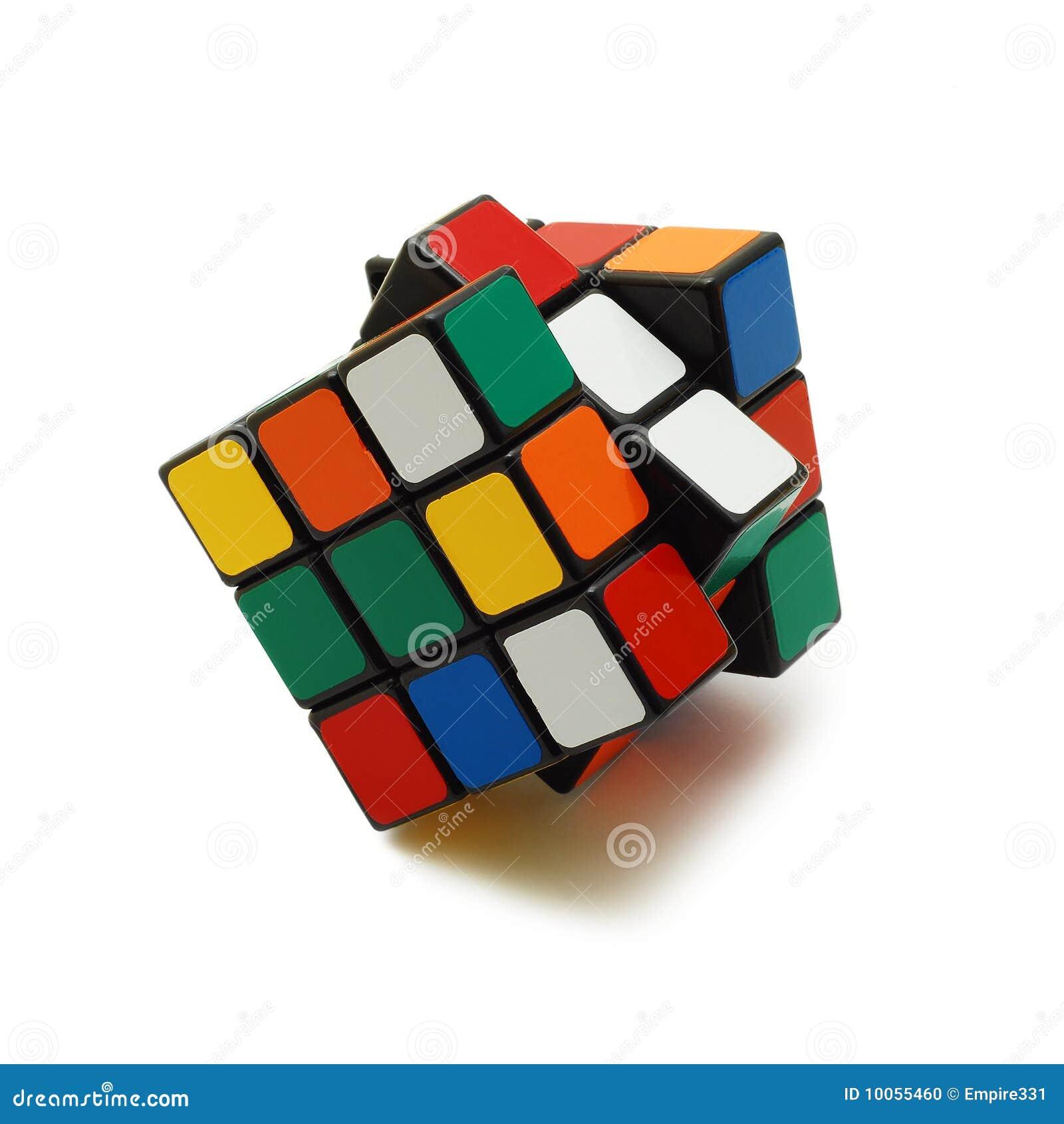 Cubo de Rubik isolado
