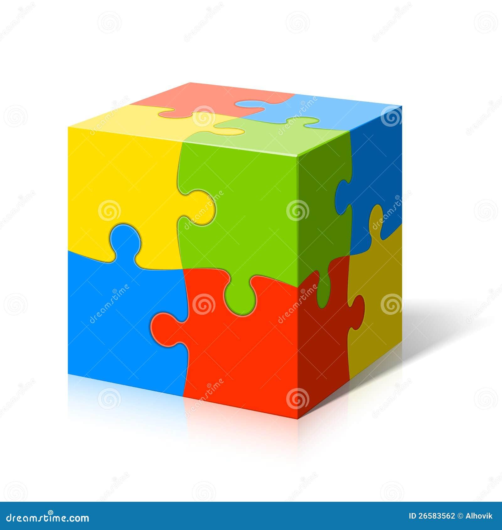 Cubo del rompecabezas