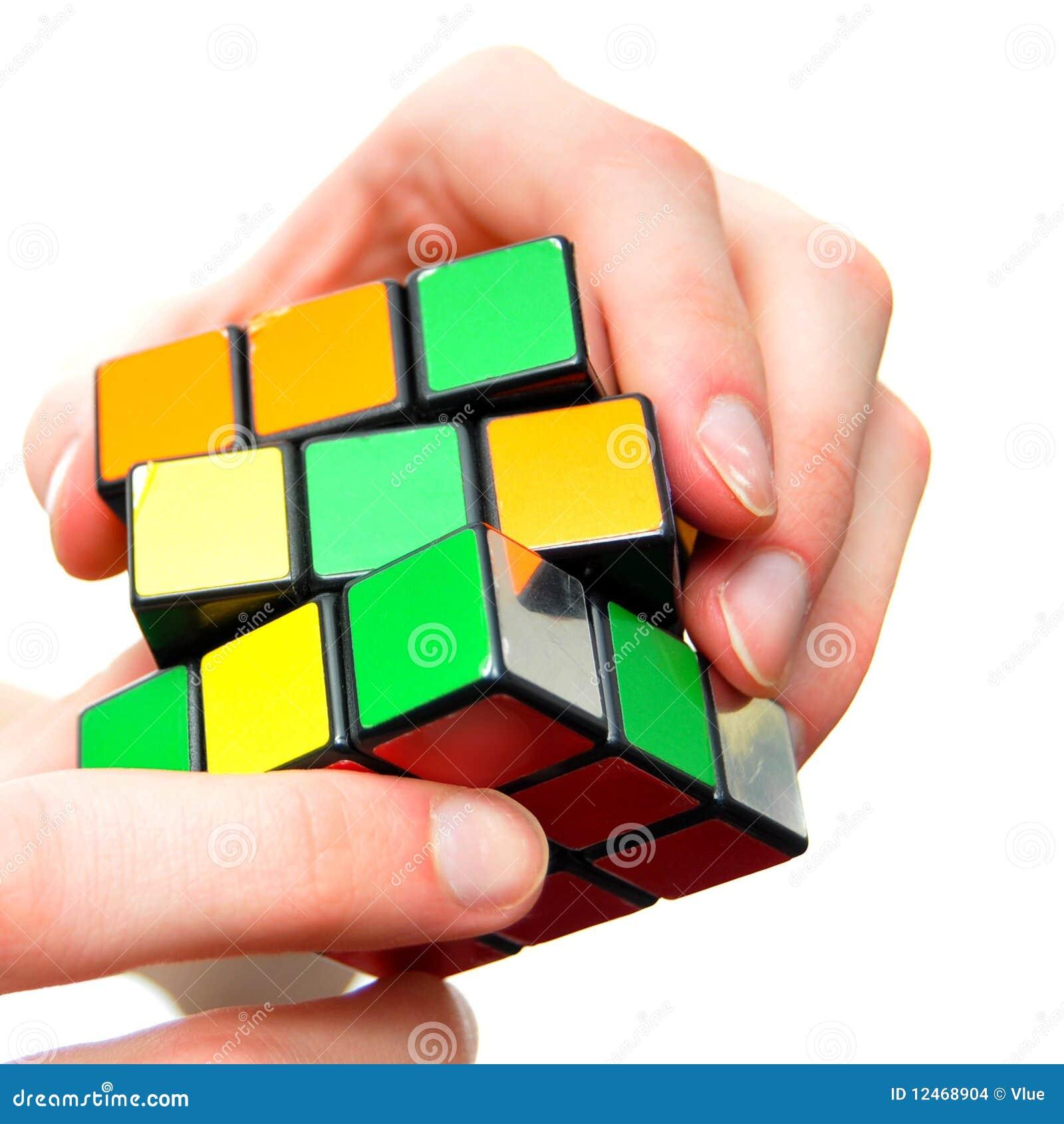 Cubo do enigma da resolução de problema