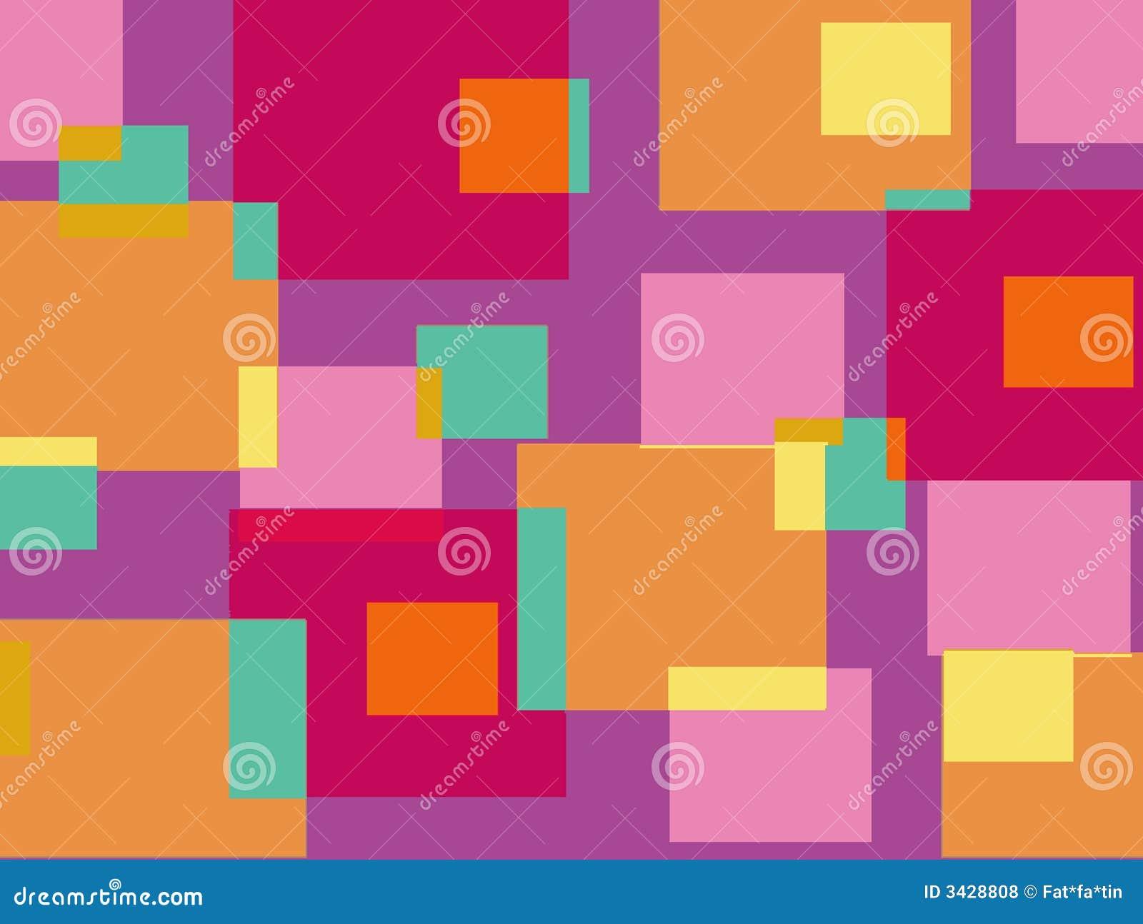 Cubos cor-de-rosa e roxos do divertimento