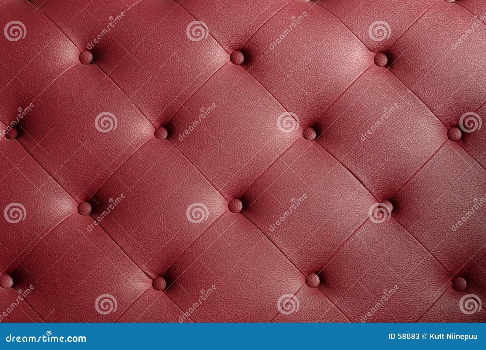 Cubra la textura del sofá con cuero