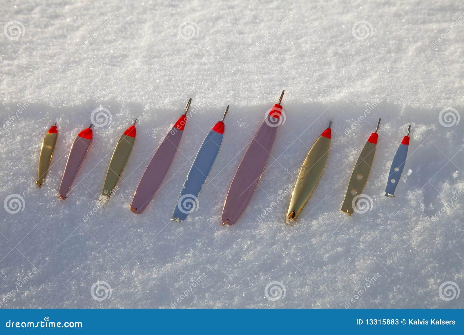 Cucchiaio di pesca del ghiaccio