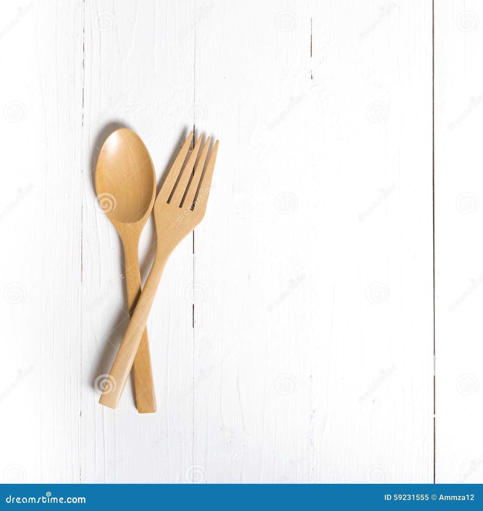 Download Cuchara Y Bifurcación De Madera Imagen de archivo - Imagen de fork, cucharas: 59231555