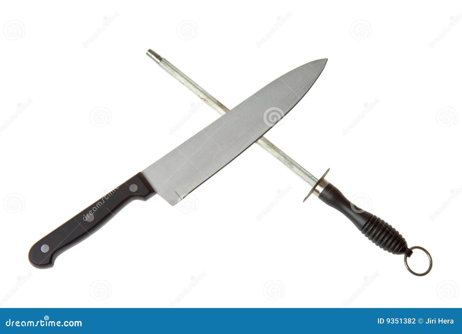 Cuchillo y sacapuntas