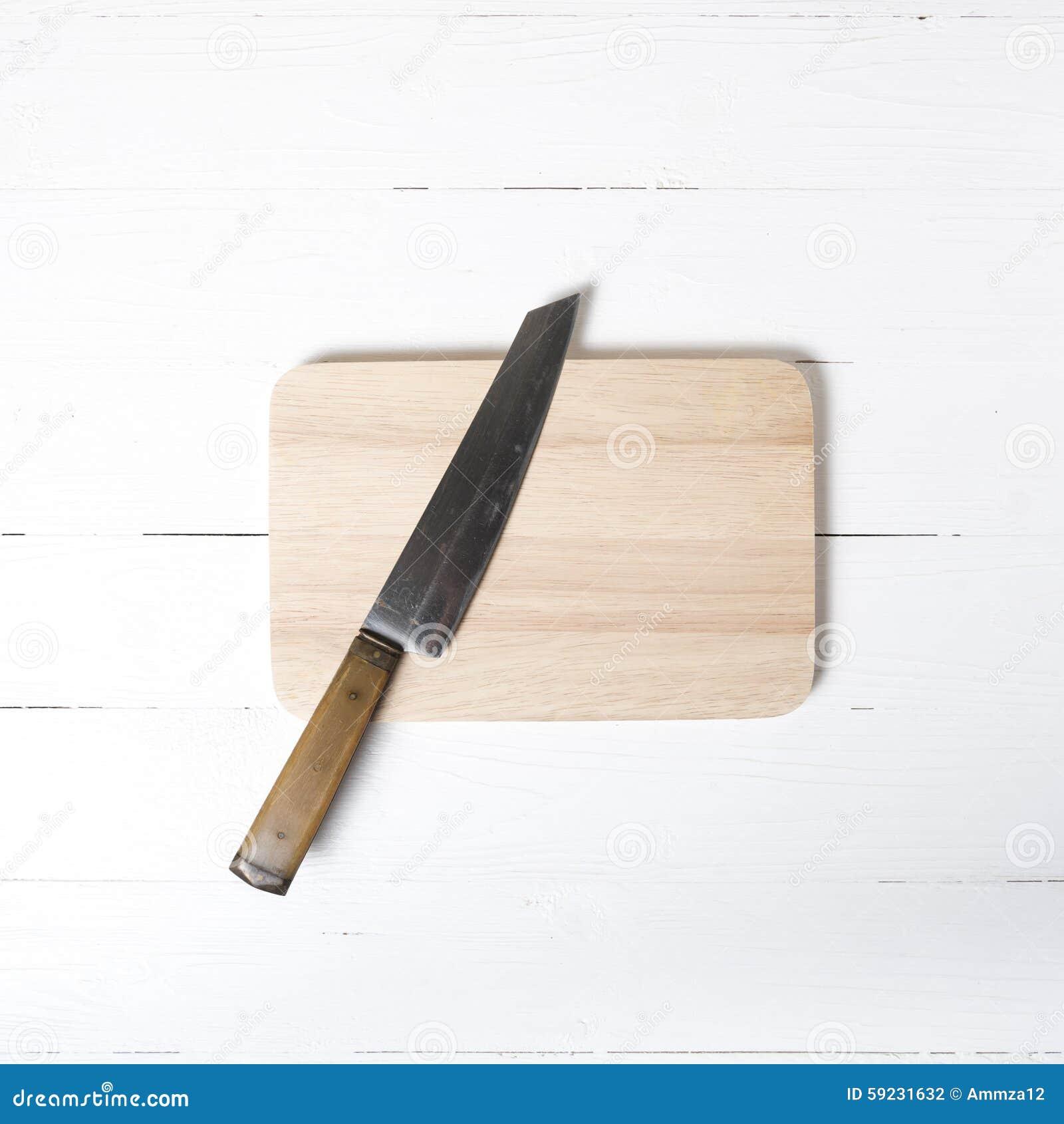 Cuchillo y tarjeta de corte