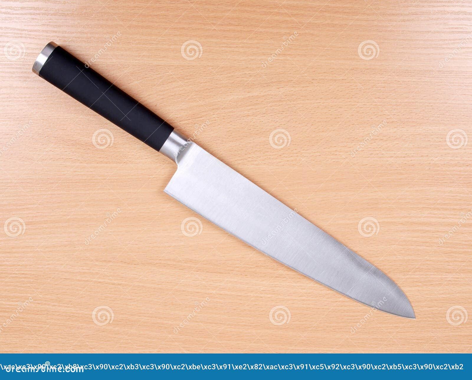 Cuchillos de cocina en la madera foto de archivo imagen 21099120 - Cuchillos de cocina ...