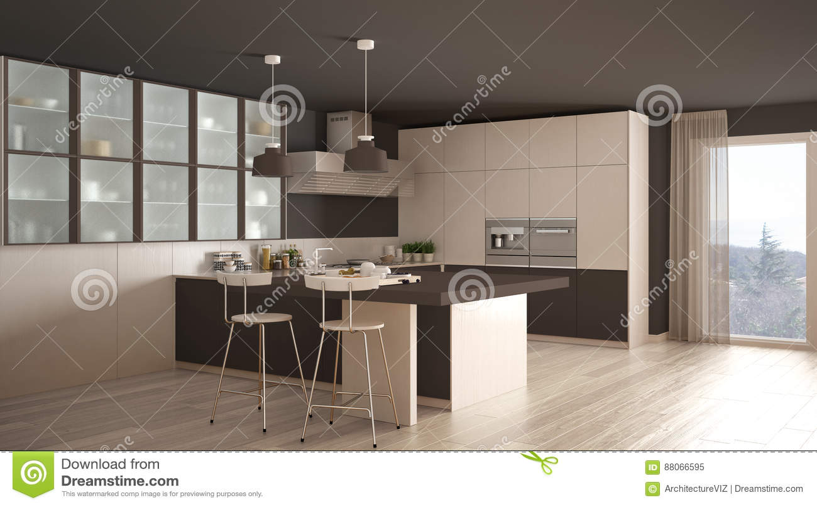 Cucina Bianca E Marrone Images - Ameripest.us - ameripest.us